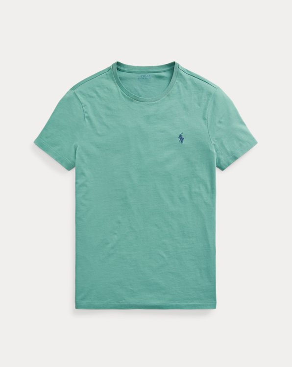 Custom Slim Fit Jersey Crewneck T-Shirt