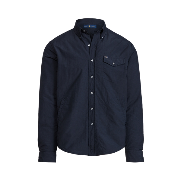 Ralph Lauren Classic Fit Utility Shirt In Blue
