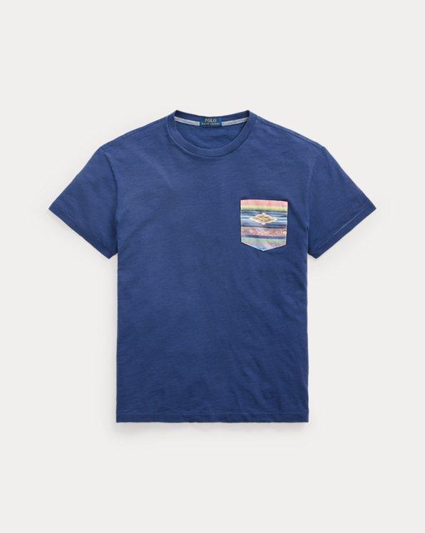 Classic Fit Southwestern Pocket T-Shirt