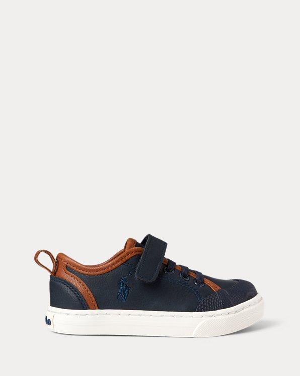 Asher II Faux-Leather Sneaker