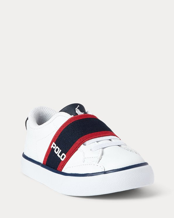 Theron Faux-Leather Slip-On Sneaker