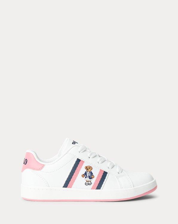 Oaklynn Polo Bear Faux-Leather Sneaker