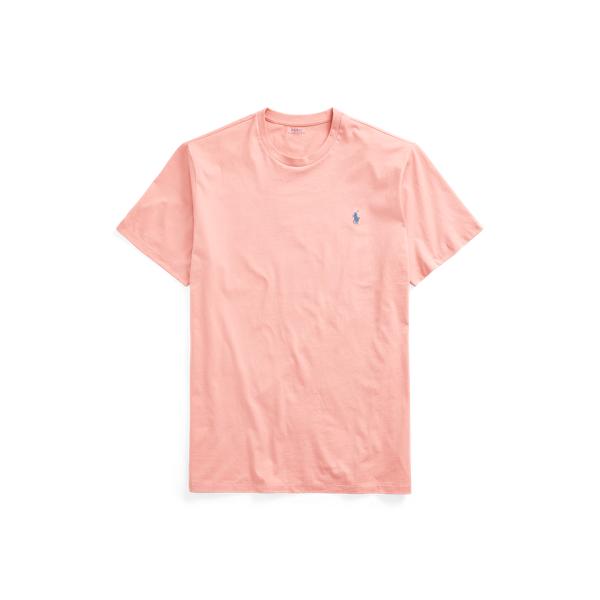 Polo Ralph Lauren Jersey Crewneck T-shirt In Pink
