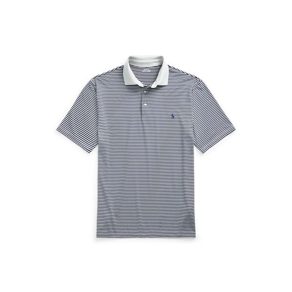Polo Ralph Lauren Performance Jersey Polo Shirt In Gray