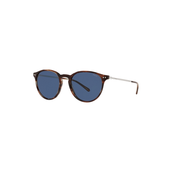 Ralph Lauren Panto Sunglasses In Blue