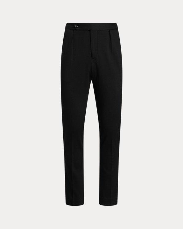 Pantalon en coton piqué mélangé