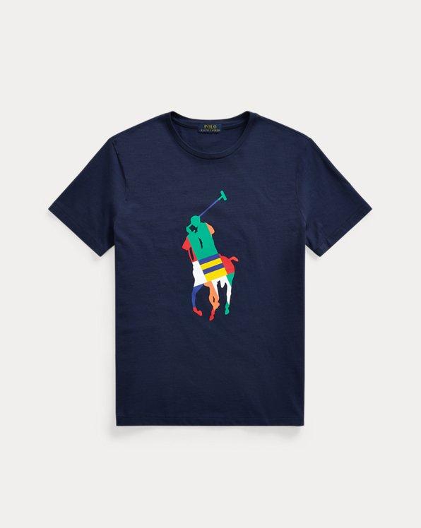 T-shirt Big Pony coupe ajustée en jersey