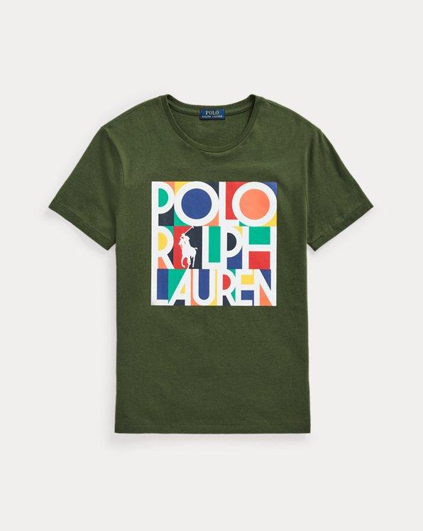 T-shirt ajusté en jersey à logo