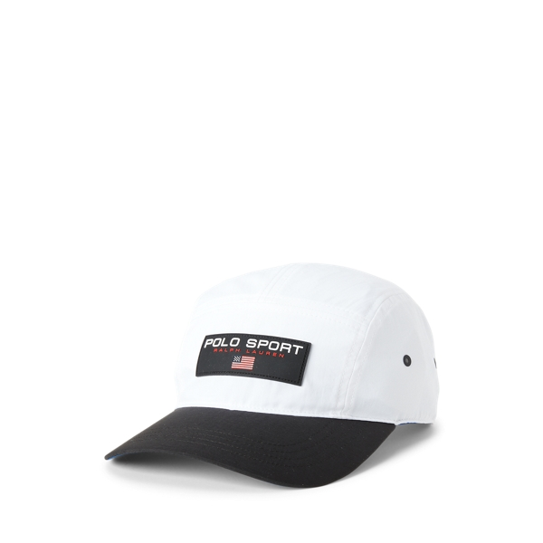 Ralph Lauren Polo Sport Five-panel Cap In White