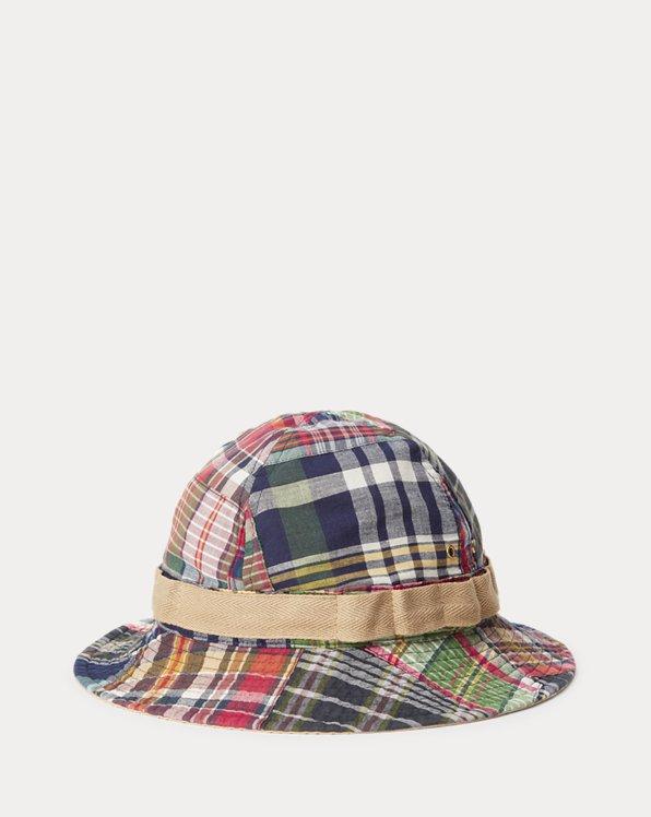 Patchwork Madras Bucket Hat