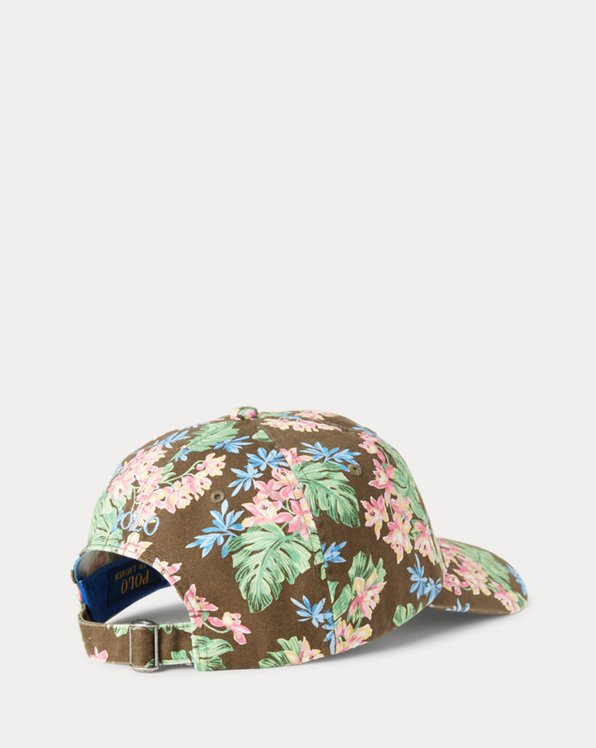 Floral Chino Ball Cap