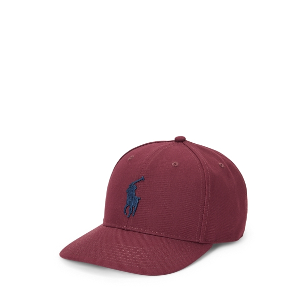 Ralph Lauren Twill High-crown Ball Cap In Brown