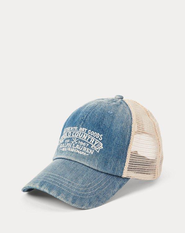 Polo Country Denim Ball Cap