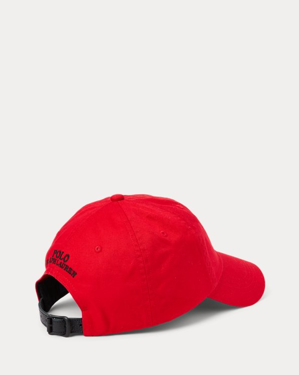 Polo Bear Twill Ball Cap