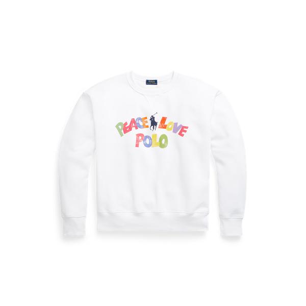 Sweat graphique Peace Love Polo