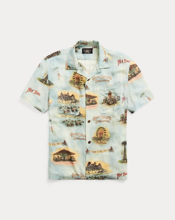 Print Camp Shirt