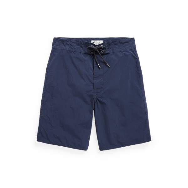 Double Rl Twill Short In Blue