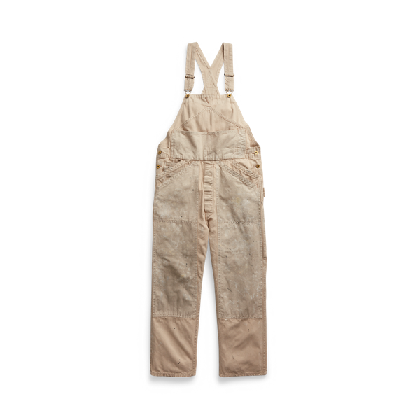 Canvas-Panel Twill Overall