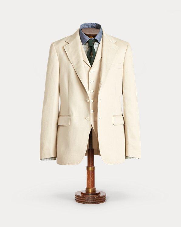 Linen Sateen Suit Jacket