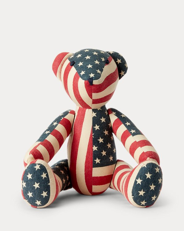 Limited-Edition Patchwork Flag Bear