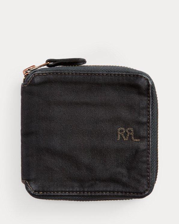 Jungle Cloth Zip Wallet