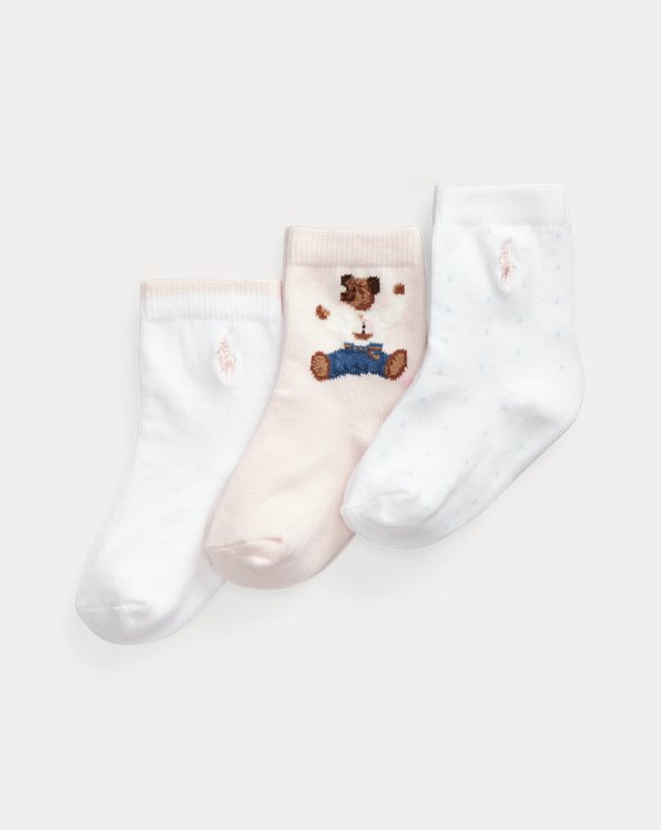Bear Crew Sock 3-Pack