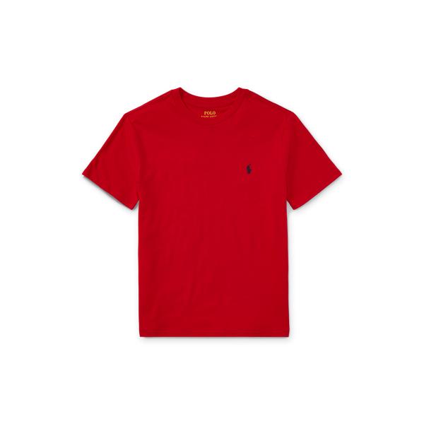 Polo Ralph Lauren Kids' Cotton Jersey Crewneck Tee In Rl 2000 Red