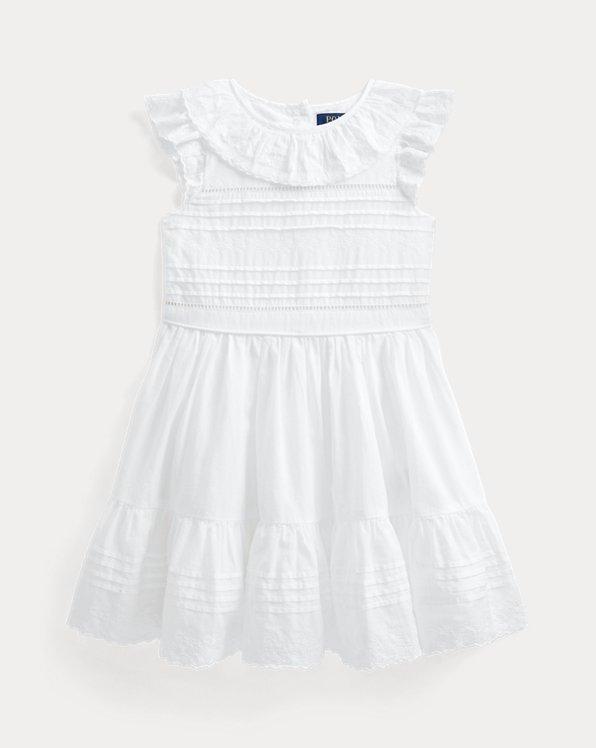 Embroidered Cotton Batiste Dress