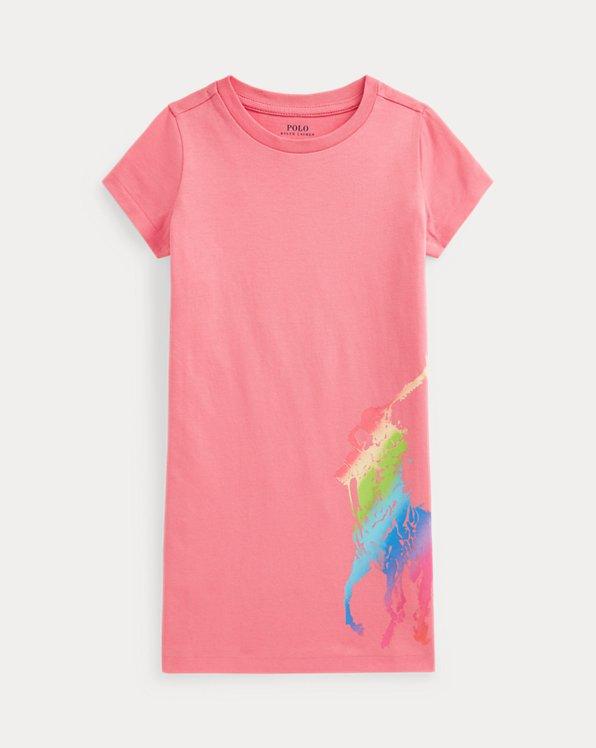 Robe t-shirt Big Pony en jersey de coton