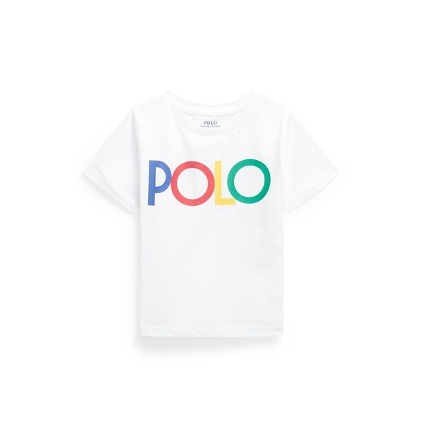Polo Ralph Lauren Kids' Logo Cotton Jersey Tee In White