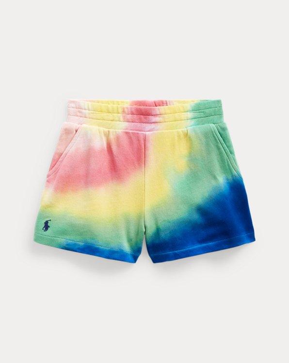 Batik-Shorts aus Terry
