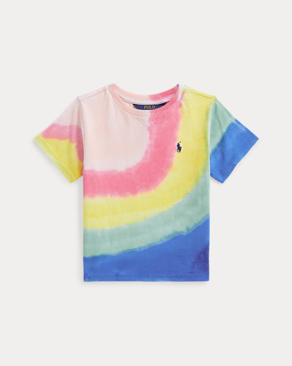 Batik-T-Shirt aus Baumwolljersey
