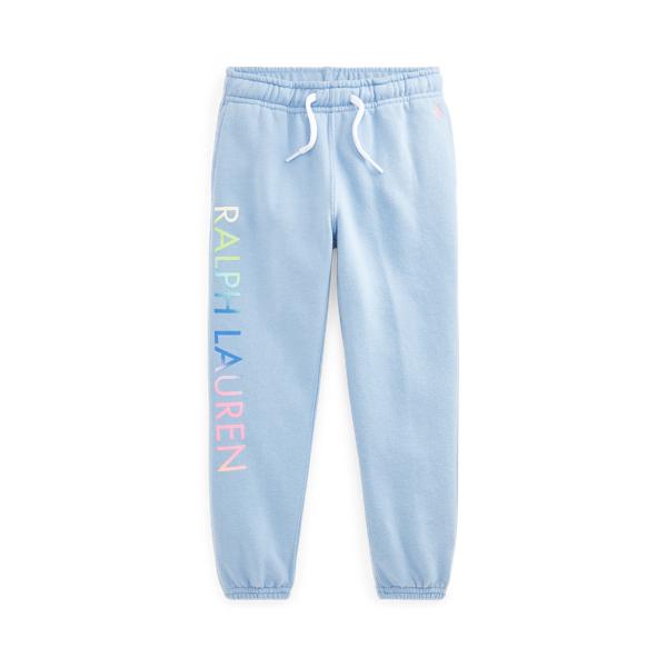 폴로 랄프로렌 여아용 조거팬츠 Polo Ralph Lauren Logo Fleece Jogger Pant,Chambray Blue
