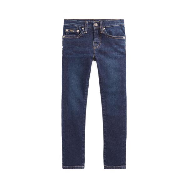 Polo Ralph Lauren Kids' Aubrie Denim Legging In Blue