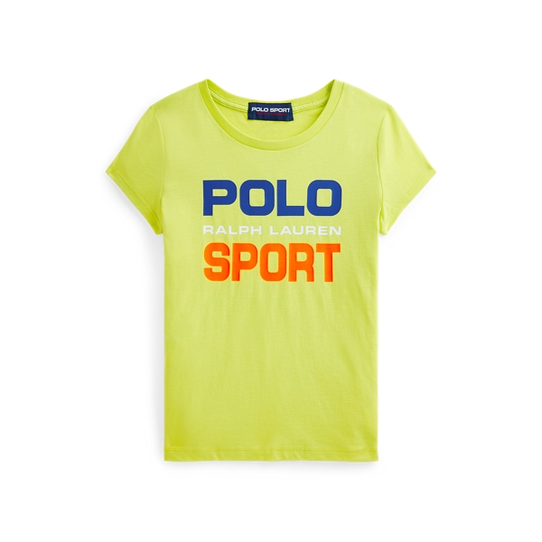 Polo Ralph Lauren Kids' Polo Sport Cotton Jersey Tee In Green
