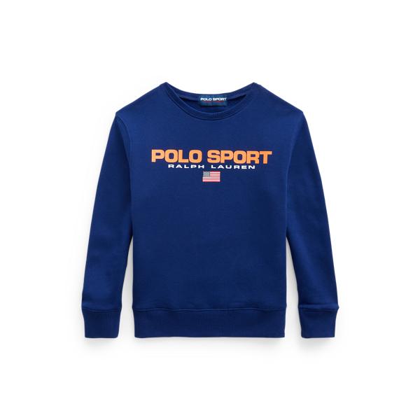 Polo Ralph Lauren Kids' Polo Sport Fleece Sweatshirt In Blue