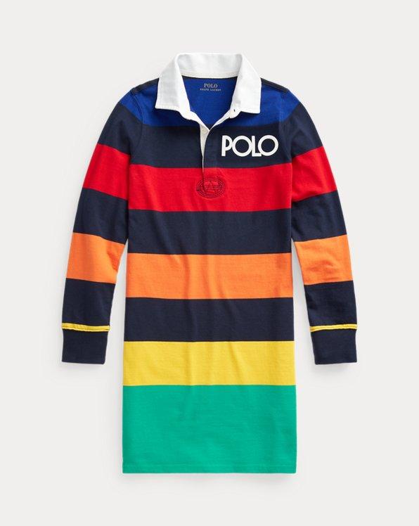 Striped Jersey Rugby Dress