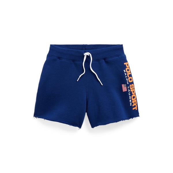 Polo Ralph Lauren Kids' Polo Sport Fleece Short In Blue