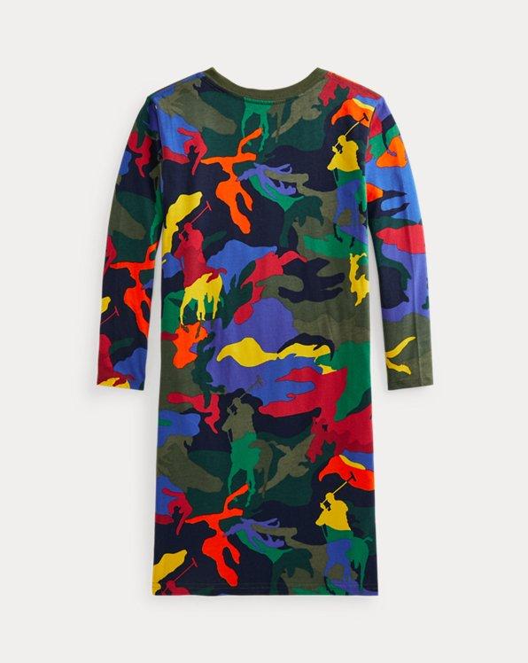 Big Pony Camo Jersey Tee Dress