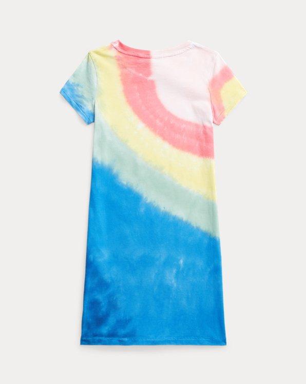 Tie-Dye Cotton Jersey Tee Dress