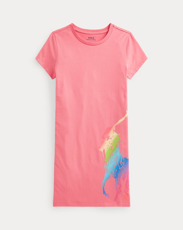 Big Pony Cotton Jersey Tee Dress