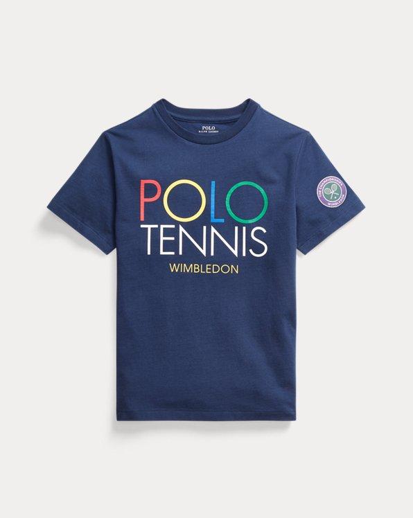 T-shirt graphique Wimbledon coton