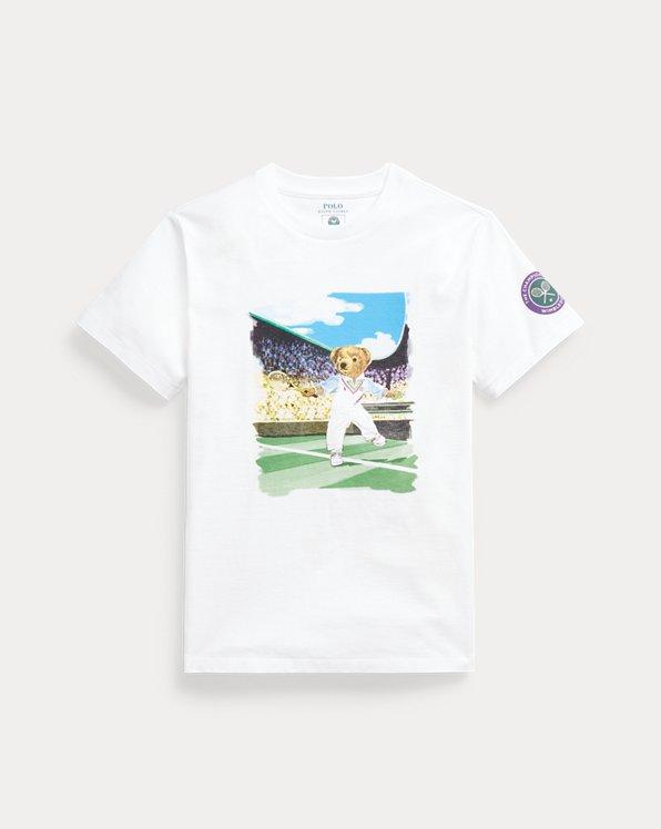 T-shirt Wimbledon Polo Bear en coton