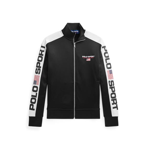 Polo Ralph Lauren Kids' Polo Sport Fleece Track Jacket In Polo Black Multi
