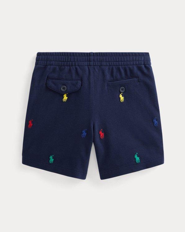 Polo Prepster Cotton Mesh Short