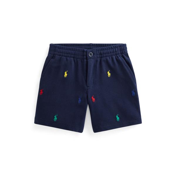 Polo Ralph Lauren Kids' Polo Prepster Cotton Mesh Short In Blue