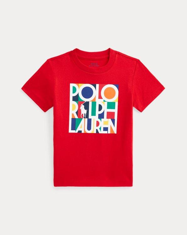 Logo-T-Shirt aus Baumwolljersey