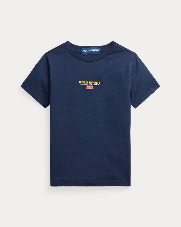Maglietta Polo Sport in jersey di cotone