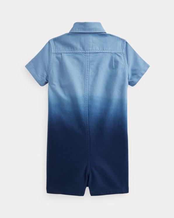 Dip-Dyed Cotton Oxford Shortall