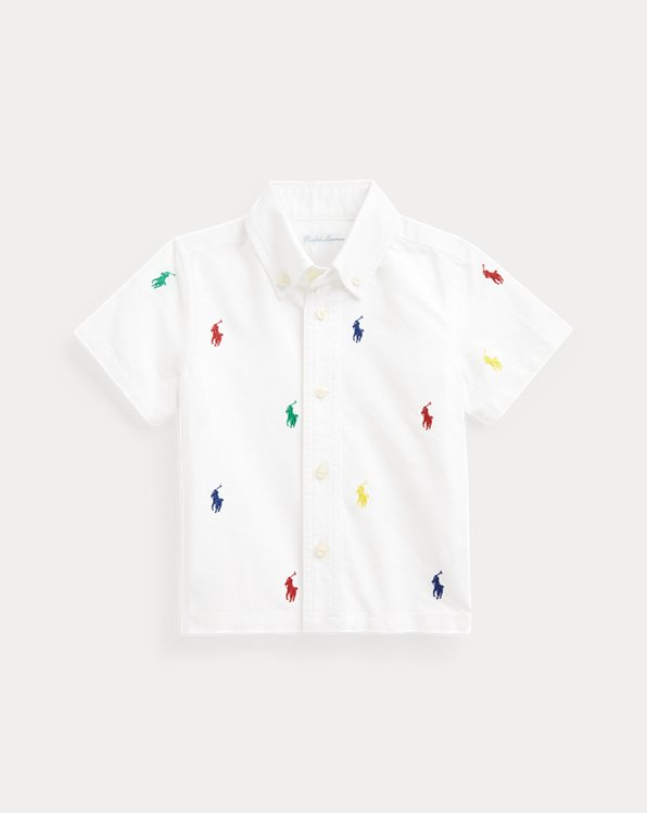 Polo Pony Cotton Oxford Shirt